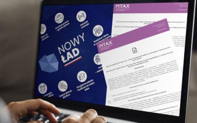 Nowy ład – Analiza NTAX – Biuro rachunkow